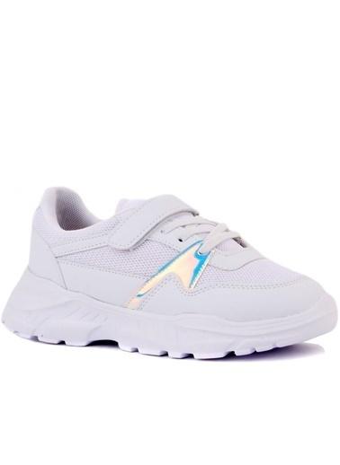 Cool 20-S11 Kız Çocuk Beyaz Günlük Spor Ayakkabı Beyaz